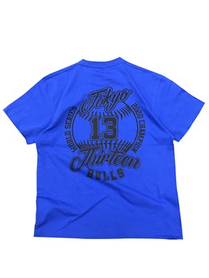 WORLD CHAMPION TEE [BLUE]