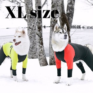 【ALPHAICON】 2020年モデル  ダブルフルドッグガード  XLサイズ  アルファアイコン  W. FULL DOG GUARD  XL 犬 冬 外遊び アウトドア 犬服