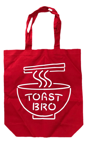 珉亭 × TOAST BRO Cotton Tote bag