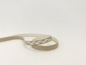 リバーシブル帯留用三分紐「つる草」(2)