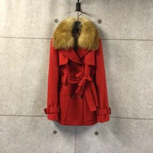 DOUBLE STANDARD CLOTHING ウールコート