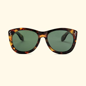 "Shady Spex ""CAUTIOUS LIP"" sunglasses, Tortoise w/Polarized G15 lenses"