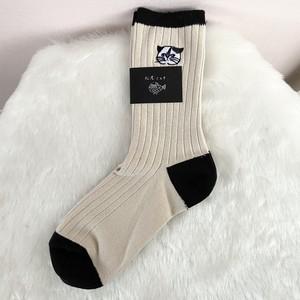 *再入荷*松尾ミユキ ソックス 靴下 Good morning socks Cat Mike