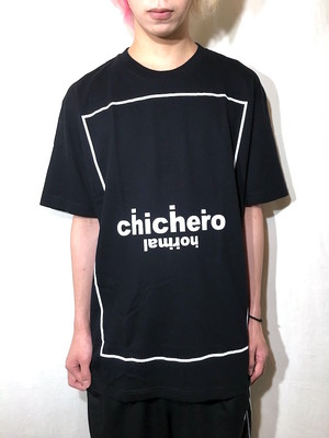 【chi che ro】r.normal T/S Black