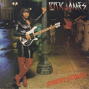 Rick James ‎/ Street Songs (LP)