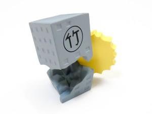【711】 ポプ子 小物パーツ 例のビル ねんどろいど
