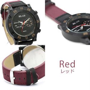 【Bel Air Collection 】ミリタリー ビッグフェイス メンズ 腕時計 XX1