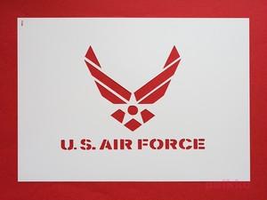 ステンシルシート アメリカ空軍マーク