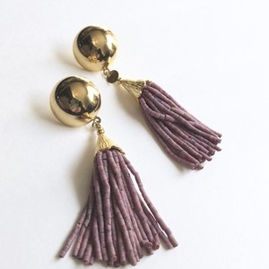 Aube tassel earrings*