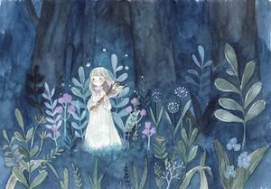 【原画】豊かの森