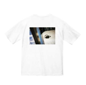 【限定販売】ビックシルエット、バックプリントTシャツ黒(サイズ選択可)