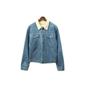 MAISON KITSUNE - Denim Boa Jacket (size - M) ¥16500+tax