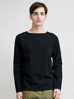 GOOD ON MEN'S L/S BOAT NECK TEE
