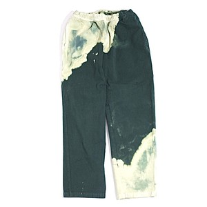 NOMA t.d Bleach trousers(GREEN)