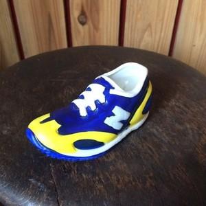 レア非売品*newbalanceニューバランス*スニーカー靴型*キャンドル陶器蝋燭ろうそくロウソク
