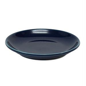 西海陶器 波佐見焼 「コモン」 プレート 皿 120mm ネイビー 17035