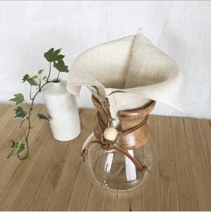 ヘンプコーヒーフィルター(L・6杯用)