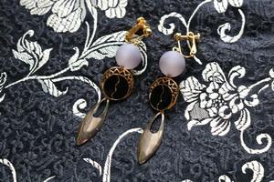 pierce/earring 宵闇ムーンライト