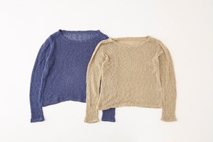 Leona Popcorn Knit