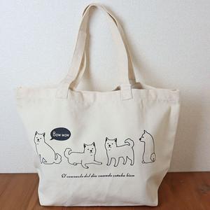 【柴犬】キャンバストートバック【犬柄 BG0006B】