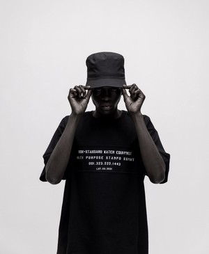 STAMPD / PANEL RELAXED TEE