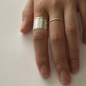 薄ヒラ ring / silver950 //rhythm