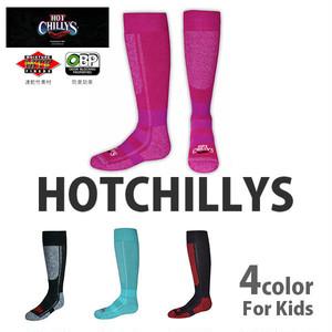 HOT CHILLYS (ホットチリーズ) プレミア ソックス 中厚 キッズ 子供用 HC2216 冬 スキー スノボ アウトドア 雪山 ノルディック 靴下