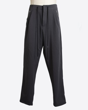 T/f stretch baggy tapered pants - stone