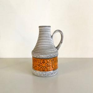 """Vintage W.Germany Pottery Vase """"BAY"""" 65/17 西ドイツ"""
