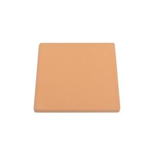 自然素材100%珪藻土コースター【茶色四角型】