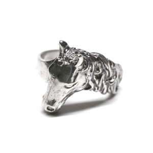 Vintage Mexican Horse Head Ring