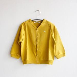 《mina perhonen 2020AW》zutto カーディガン / mustard / 80-100cm