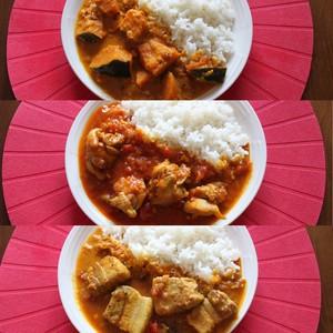 【10分3ステップ】Dear.Curry 3点セット チキン・ポーク・パンプキン