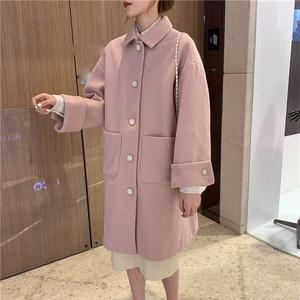 【アウター】ファッション韓国風気質よい長袖ロング暖かいコート