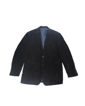 black corduroy heavy jacket