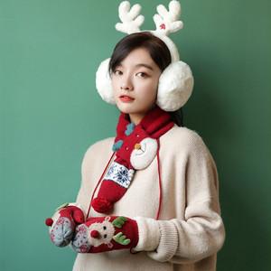 【小物】クリスマス秋冬キュート保温手袋24921258