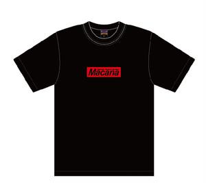 MACANA BOX T-shirt【ブラック】