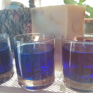 Blue Ocean gel candleブルーオーシャン