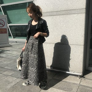 【11月17日発売】tweed leopard sk