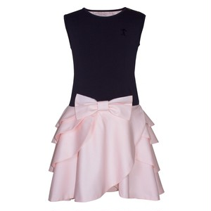 【NEW】RIPPLE DRESS SOFT PINK