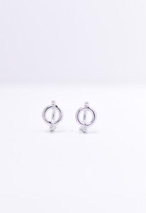 circle pierce /silver