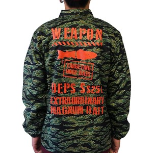 DEPS / MILITARY COACH JACKET [TIGER CAMO×ORANGE]