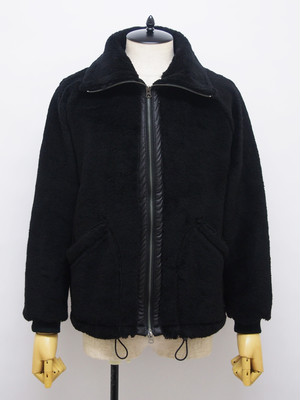 EGO TRIPPING (エゴトリッピング) ADDICTED BOA JACKET / BLACK 663561-05