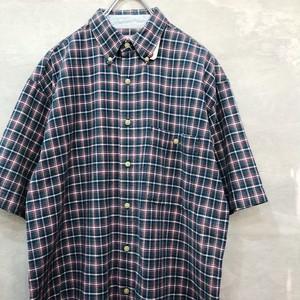 半袖チェックシャツ  #1713