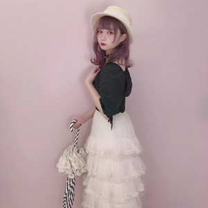 Tulle&frill princess skirt