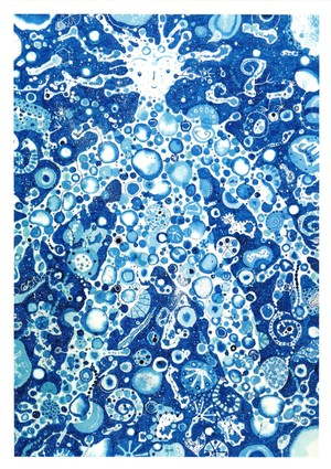 ポストカード「I am water」