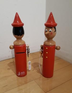 ピノキオ貯金箱