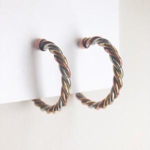 """AVON"" New Twist earring[e-1215] ヴィンテージイヤリング"