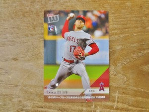 大谷翔平 RC 2018 TOPPS NOW 09.02.18 ( 日本語版 )