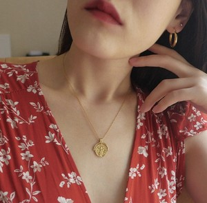 Coin pendant necklace (コイン ペンダントネックレス)